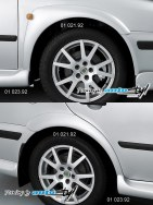 Auto tuning: Wide fender trims - for paint*