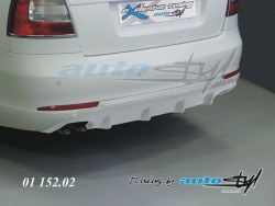 Auto tuning: Difuzor - for paint - sedan/combi