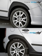 Auto tuning: Fender trims to doorsills + 01 032.51 - black design