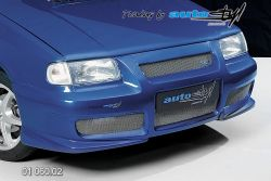 Auto tuning: FRont spoiler with mask - model 2003 (převlek)