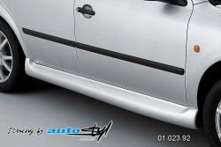 Auto tuning: Pair of side skirts - for paint*