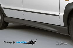 Auto tuning: Pair of side skirts - black design