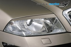 Auto tuning: Front light cover - for paint