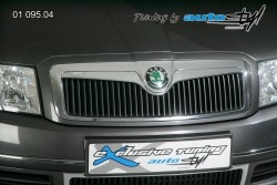 Auto tuning: Front grille  -  chrom