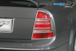 Auto tuning: Rear light cover - chrom